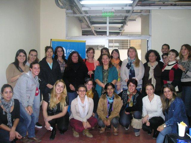 Fuerte presencia de escuelas del interior en curso-taller de ACAP