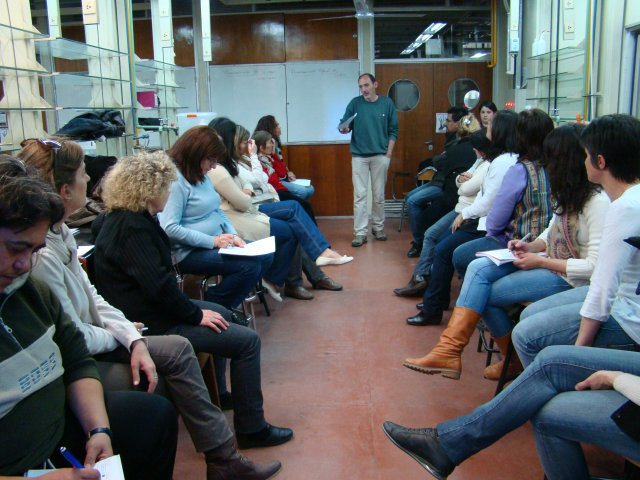 24 de junio: segundo encuentro Curso-taller de ACAP con docentes