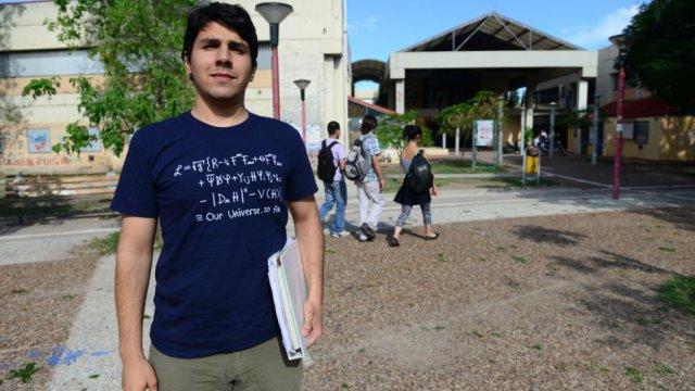 Franco Bonafé es premio Joven Sobresaliente 2015